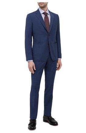 Мужская хлопковая сорочка ETON синего цвета, арт. 1000 01767   Фото 2