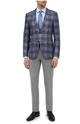 Мужская хлопковая сорочка ETON голубого цвета, арт. 1000 03034 | Фото 2