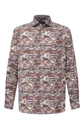 Мужская рубашка из хлопка и шелка ETON разноцветного цвета, арт. 1000 03052 | Фото 1