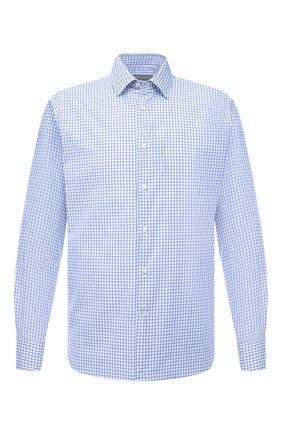 Мужская хлопковая сорочка CANALI голубого цвета, арт. 7714/GX02172   Фото 1
