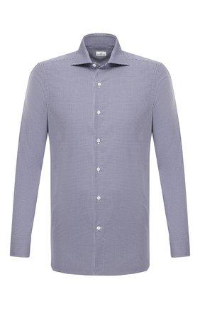 Мужская хлопковая сорочка SONRISA синего цвета, арт. I19/C4008 | Фото 1