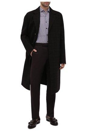 Мужские кожаные лоферы OFFICINE CREATIVE темно-коричневого цвета, арт. IVY/014/AER0 CANY0N | Фото 2