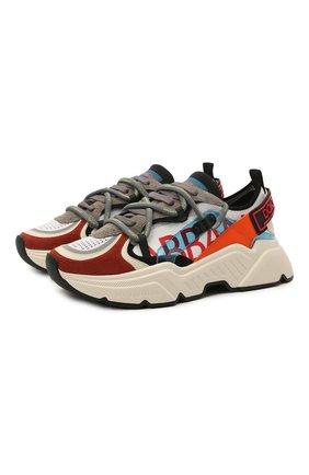 Мужские комбинированные кроссовки daymaster DOLCE & GABBANA разноцветного цвета, арт. CS1859/A0210 | Фото 1