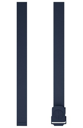 Мужской ремень STONE ISLAND темно-синего цвета, арт. 741594071 | Фото 2