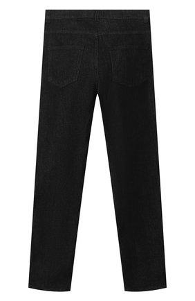 Детские джинсы BALMAIN черного цвета, арт. 6O6620   Фото 2