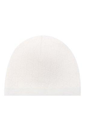 Детского шерстяная шапка GUCCI голубого цвета, арт. 418599/3K206 | Фото 1