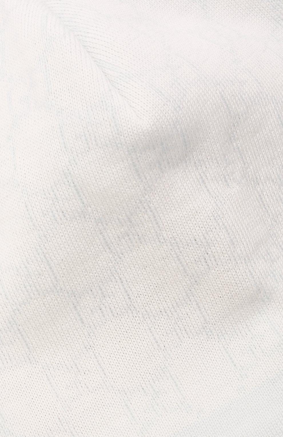 Детского шерстяная шапка GUCCI голубого цвета, арт. 418599/3K206 | Фото 3 (Материал: Шерсть)