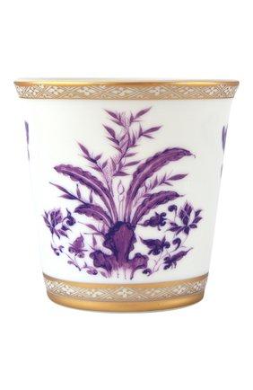 Свеча в стакане prunus BERNARDAUD фиолетового цвета, арт. 1831/3843 | Фото 1