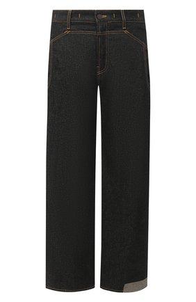 Мужские джинсы JACQUEMUS темно-синего цвета, арт. 215DE02/123390 | Фото 1
