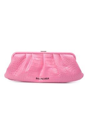 Женский клатч cloud BALENCIAGA розового цвета, арт. 618899/1R053 | Фото 1