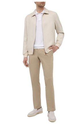 Мужские хлопковые брюки PT TORINO бежевого цвета, арт. 211-C5 VT01Z00CHN/NT46 | Фото 2
