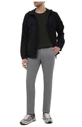 Мужские хлопковые брюки PT TORINO серого цвета, арт. 211-C5 VT01Z00CHN/NT46 | Фото 2