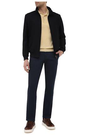 Мужские хлопковые брюки PT TORINO темно-синего цвета, арт. 211-C5 VT01Z00CHN/NT46 | Фото 2