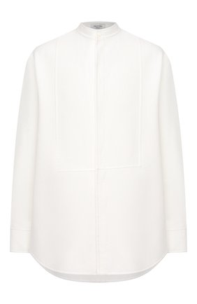 Мужская хлопковая рубашка VALENTINO белого цвета, арт. VV3ABG9575Y | Фото 1