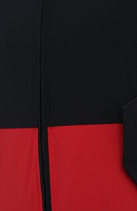 Мужской жилет KIRED темно-синего цвета, арт. WMAXBSMW6905003000   Фото 5 (Кросс-КТ: Куртка; Материал внешний: Синтетический материал; Длина (верхняя одежда): Короткие; Стили: Кэжуэл)