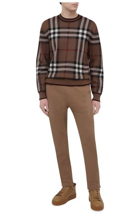 Мужские хлопковые брюки LORO PIANA темно-бежевого цвета, арт. FAL5985 | Фото 2
