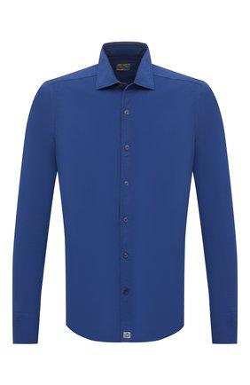 Мужская хлопковая рубашка SONRISA синего цвета, арт. ITJ08/IN/J119 | Фото 1