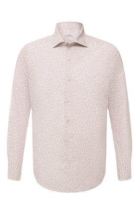 Мужская хлопковая рубашка SONRISA бежевого цвета, арт. IFI0R9/BT/C4042 | Фото 1
