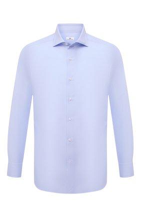 Мужская хлопковая сорочка SONRISA голубого цвета, арт. I19/C4005 | Фото 1