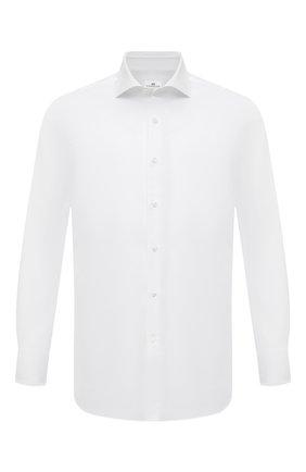 Мужская хлопковая сорочка SONRISA белого цвета, арт. I19/C4005 | Фото 1