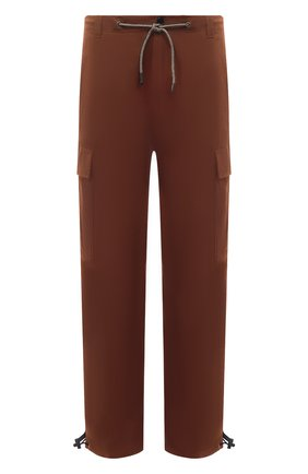 Мужские хлопковые брюки-карго ASPESI коричневого цвета, арт. S1 A CP10 E794 | Фото 1 (Материал внешний: Хлопок; Длина (брюки, джинсы): Стандартные; Случай: Повседневный; Стили: Кэжуэл)