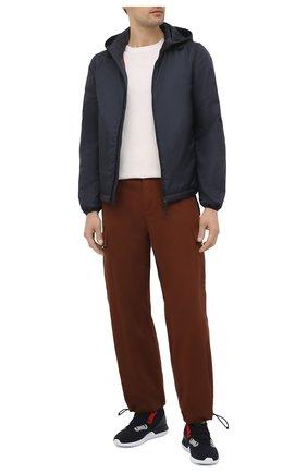 Мужские хлопковые брюки-карго ASPESI коричневого цвета, арт. S1 A CP10 E794 | Фото 2 (Материал внешний: Хлопок; Длина (брюки, джинсы): Стандартные; Случай: Повседневный; Стили: Кэжуэл)
