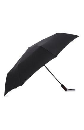 Мужской складной зонт DOPPLER черного цвета, арт. 74366N 1 | Фото 2