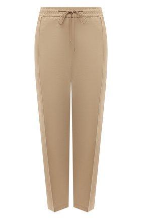 Женские брюки BOSS бежевого цвета, арт. 50444247 | Фото 1