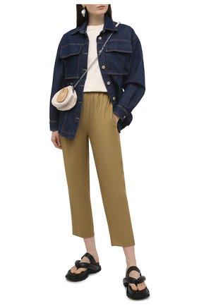 Женская джинсовая рубашка TELA синего цвета, арт. A6 0259 01 T108 | Фото 2