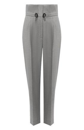 Женские шерстяные брюки TELA серого цвета, арт. 14 8023 01 0159 | Фото 1