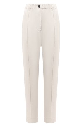 Женские брюки из хлопка и льна TELA бежевого цвета, арт. 14 0236 01 0170 | Фото 1