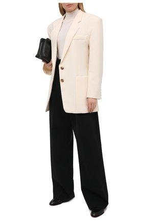 Женские брюки PHILOSOPHY DI LORENZO SERAFINI черного цвета, арт. A0320/723 | Фото 2