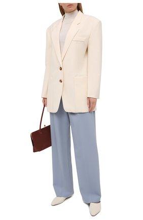 Женские брюки PHILOSOPHY DI LORENZO SERAFINI голубого цвета, арт. A0320/723 | Фото 2