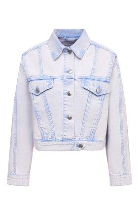 Женская джинсовая куртка IRO сиреневого цвета, арт. WP08SMALA | Фото 1