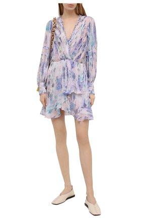 Женское платье из вискозы IRO сиреневого цвета, арт. WP33K0LMI | Фото 2