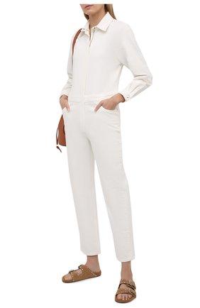 Женский джинсовый комбинезон IRO белого цвета, арт. WP28N0UKA | Фото 2