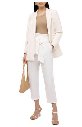 Женские хлопковые брюки IRO белого цвета, арт. WP23RIT0KIE | Фото 2