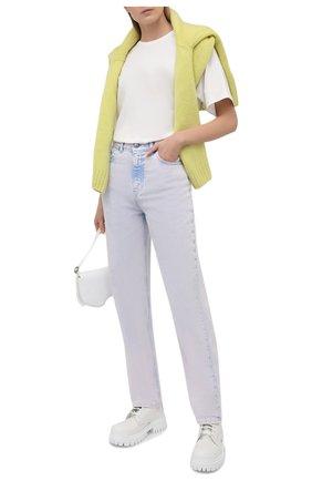 Женские джинсы IRO сиреневого цвета, арт. WP22DAHI0 | Фото 2