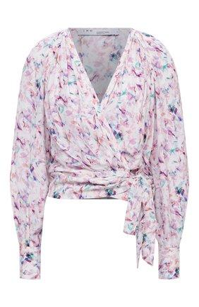 Женская блузка из вискозы IRO светло-розового цвета, арт. WP16AZZA | Фото 1