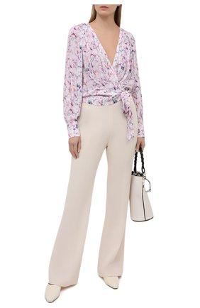 Женская блузка из вискозы IRO светло-розового цвета, арт. WP16AZZA | Фото 2