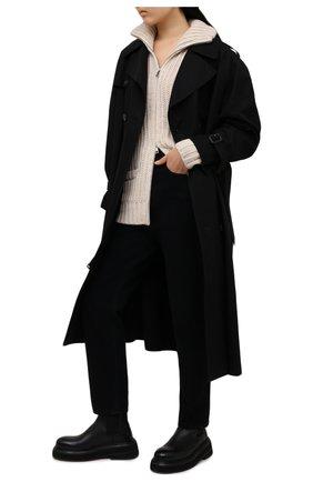 Женский шерстяной кардиган ZADIG&VOLTAIRE светло-бежевого цвета, арт. SKMA2401F | Фото 2