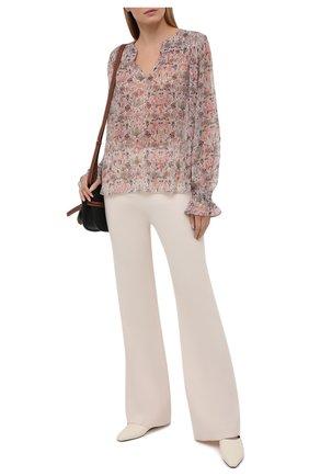 Женская блузка ZADIG&VOLTAIRE светло-бежевого цвета, арт. SKCE3201F | Фото 2