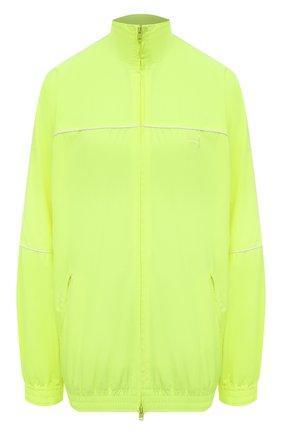 Женская куртка BALENCIAGA желтого цвета, арт. 643053/TJ0C1 | Фото 1