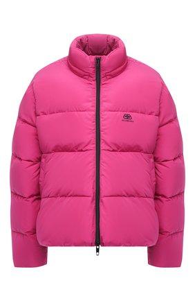 Женский стеганая куртка BALENCIAGA розового цвета, арт. 601763/TYD36 | Фото 1