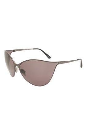 Женские солнцезащитные очки BALENCIAGA коричневого цвета, арт. 648052/T0005 | Фото 1