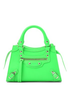 Женская сумка neo classic mini BALENCIAGA зеленого цвета, арт. 638524/15Y4Y | Фото 1