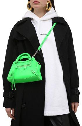 Женская сумка neo classic mini BALENCIAGA зеленого цвета, арт. 638524/15Y4Y | Фото 2