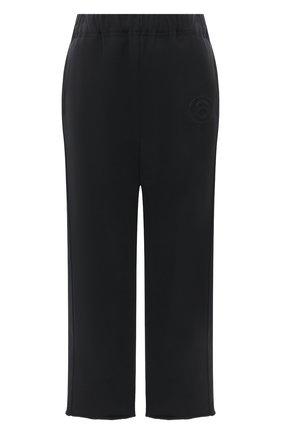 Женские брюки MM6 черного цвета, арт. S52KA0296/S25409 | Фото 1