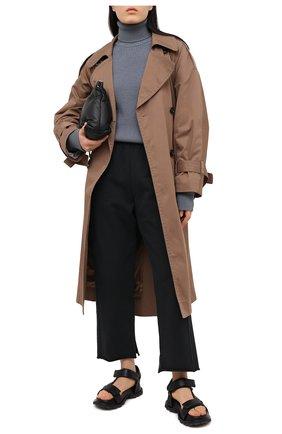 Женские брюки MM6 черного цвета, арт. S52KA0296/S25409 | Фото 2