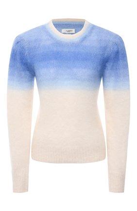 Женский пуловер ISABEL MARANT ETOILE голубого цвета, арт. PU1523-21P056E/DENIZ   Фото 1